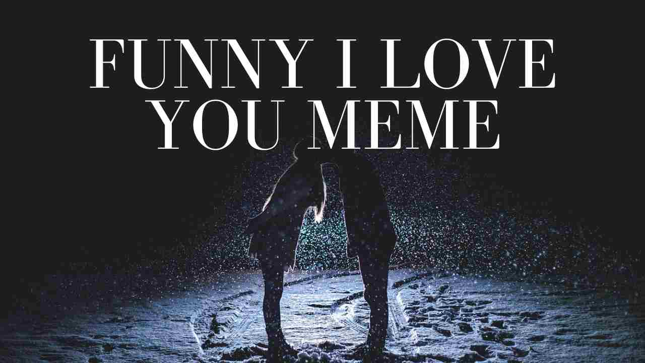 Funny I Love You Meme