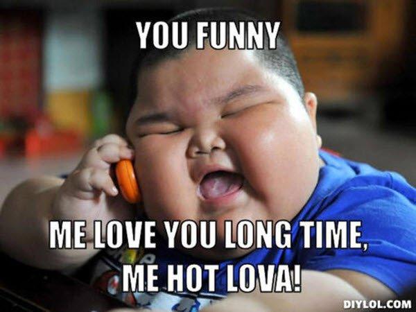 Funny I Love You Meme