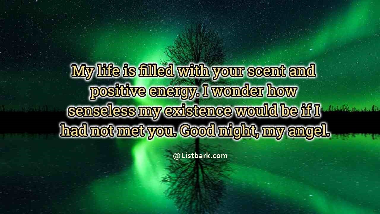 Good Night Quotes For Lovers