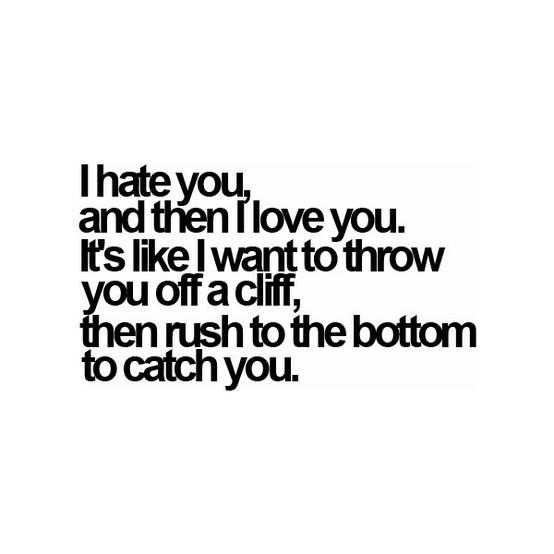 Hate You and Then I Love You