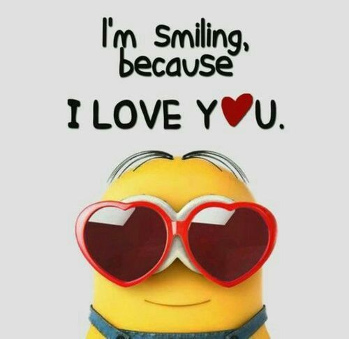 I Am Smilling Because I Love You