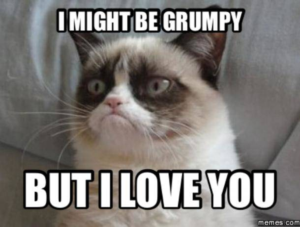 I Might be Grumphy