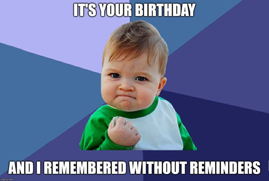 Remembered Without Reminders Baby Fist Pump