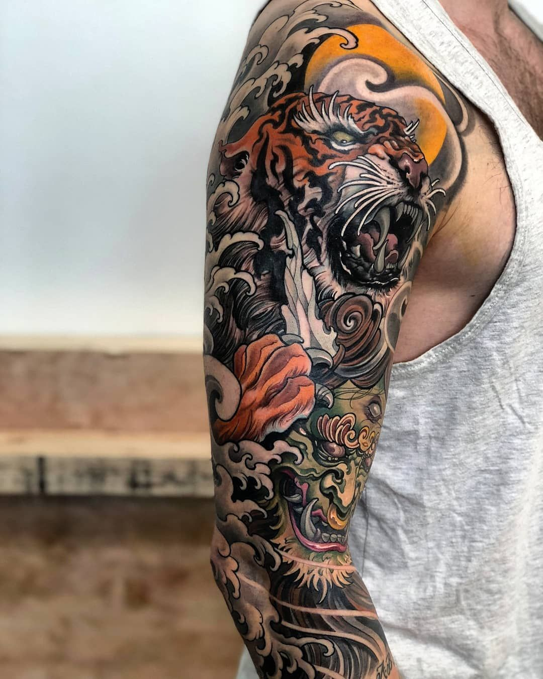 Best Japanese Tiger Tattoo Images