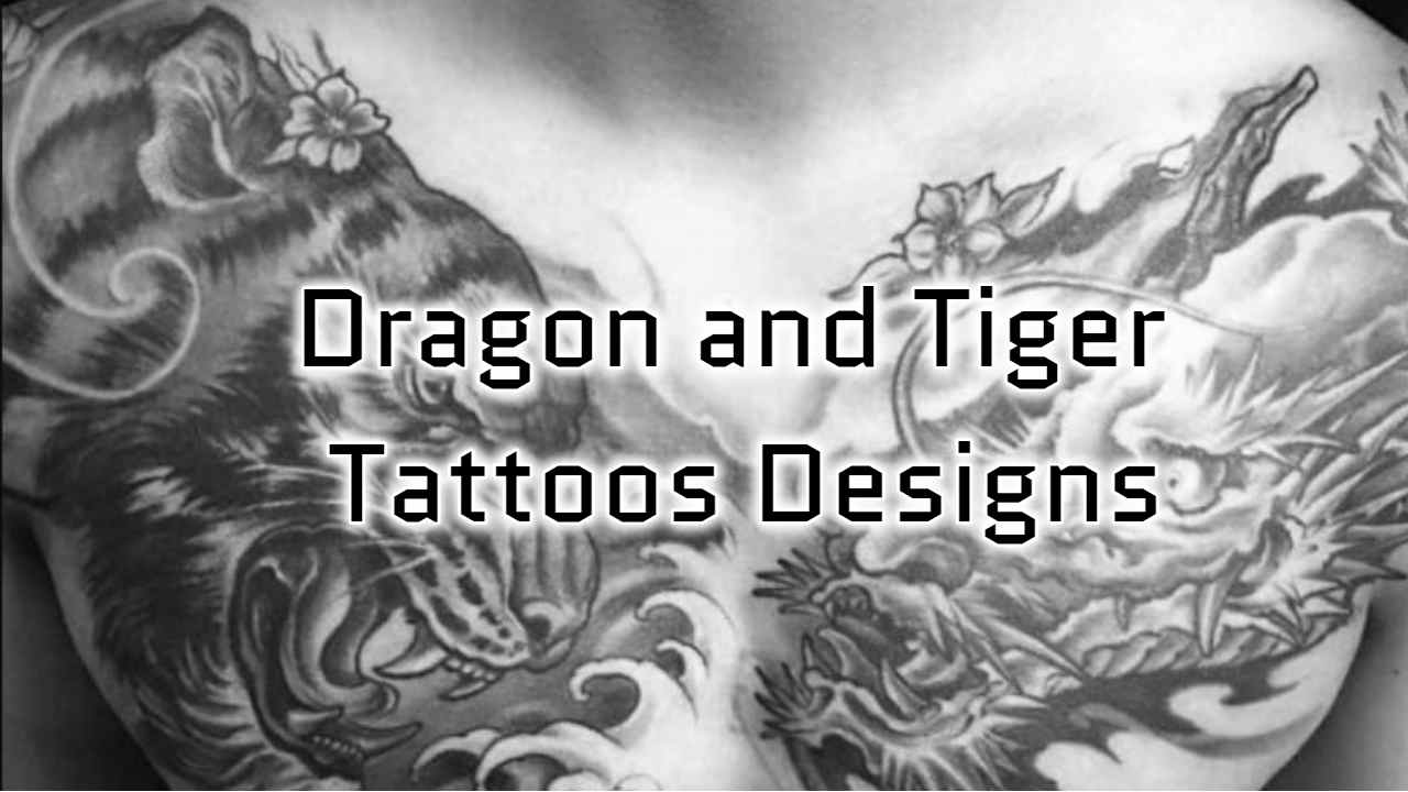 Dragon and Tiger Tattoos
