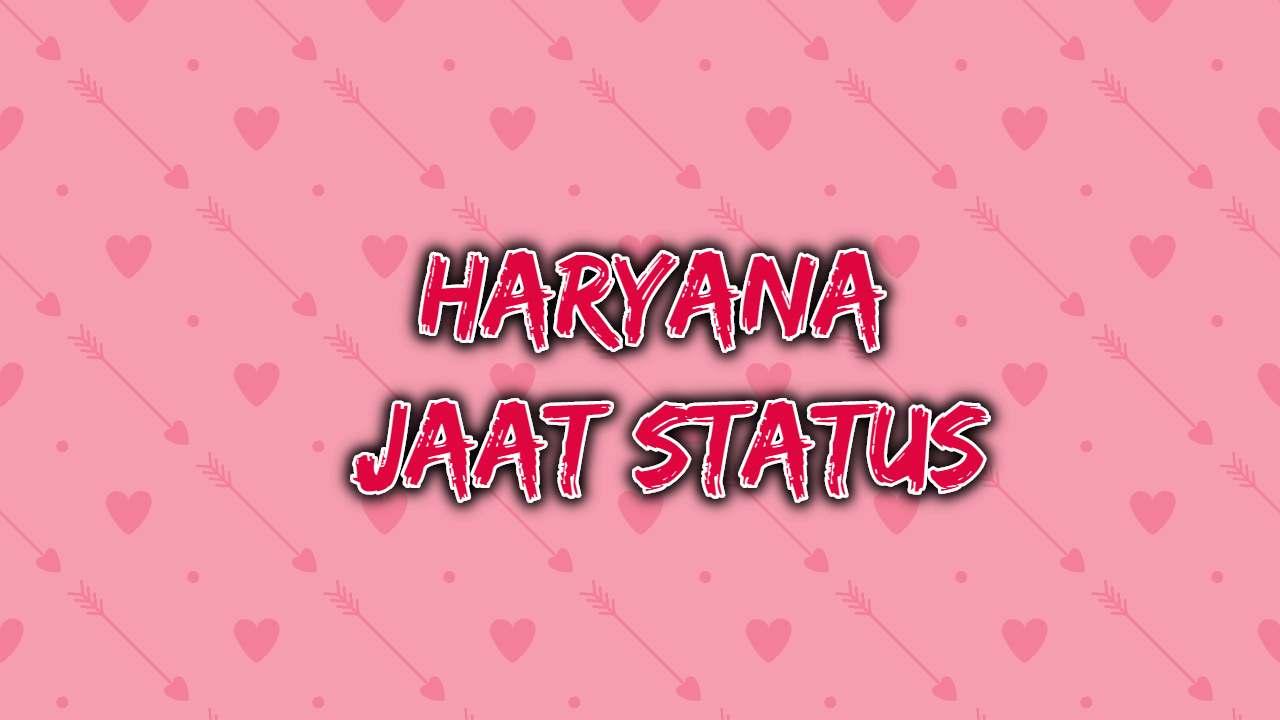 Haryana Jaat Status