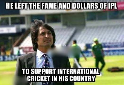 He Left The Fame And Dollars Of IPL To Support International Cricket In His Country Funny Cricket Meme Picture