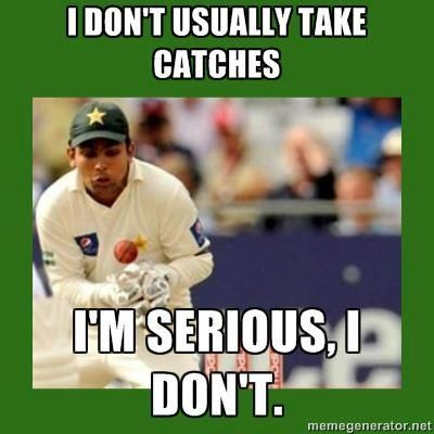 I Don't Usually Take Catches I Am Serious I Don't Funny Cricket Meme Image