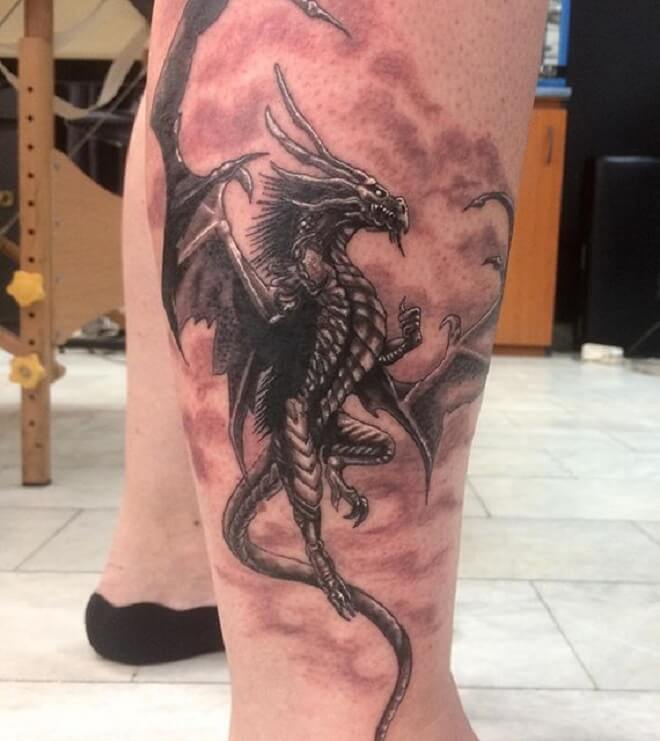 Super Cool Dragon Tattoos For Men