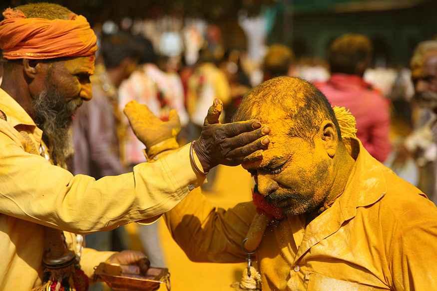 Turmeric Powder Festival