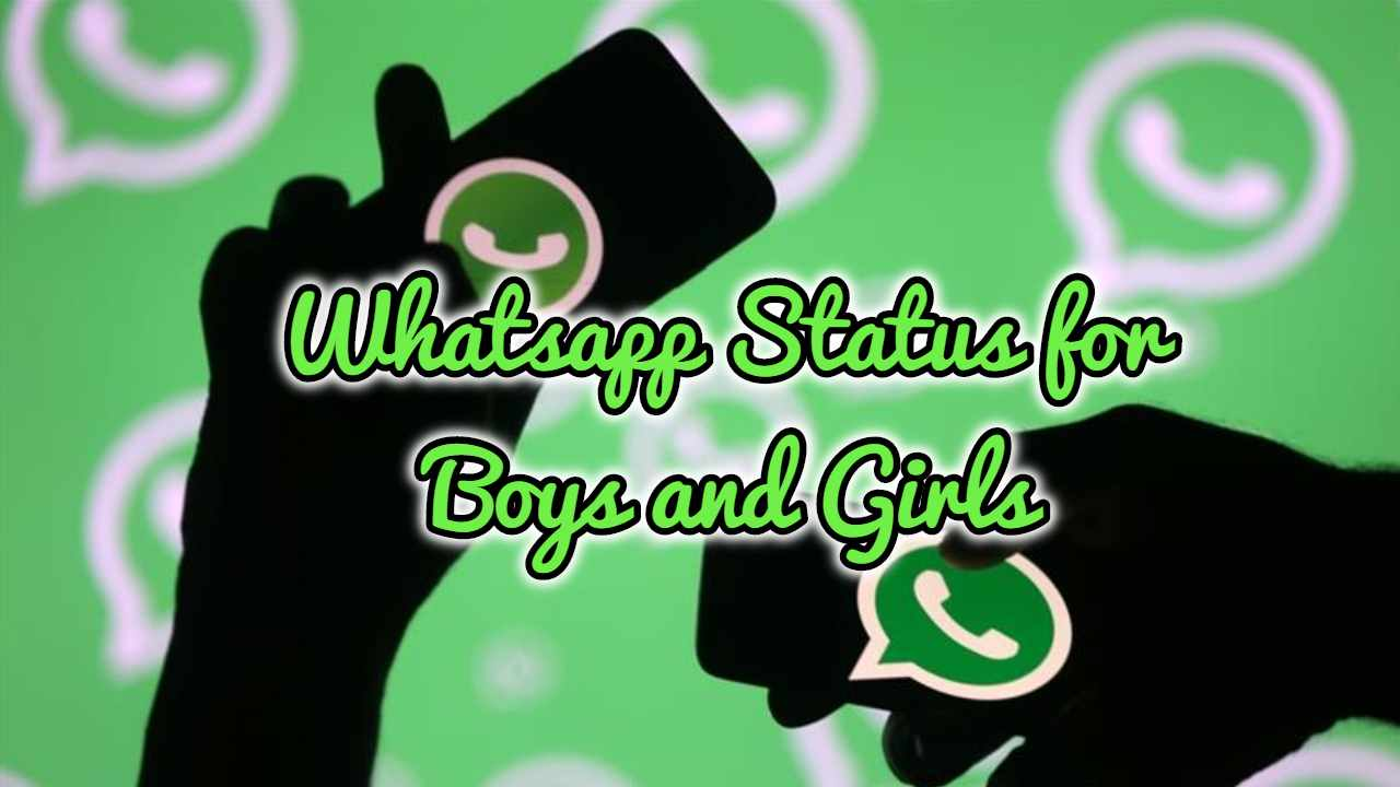 Whatsapp Status for Boys