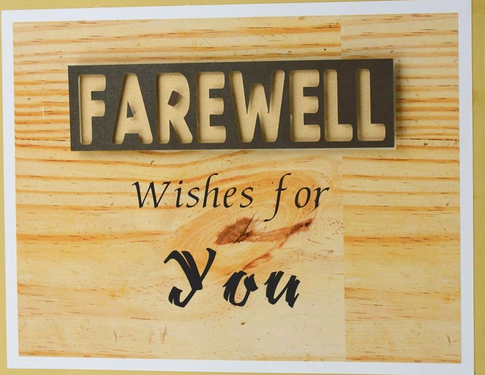 Farewell Wishes for Friend