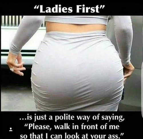 Ladies First Funny Humor