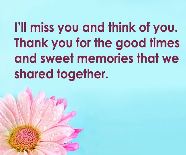 Miss You arewell Messages