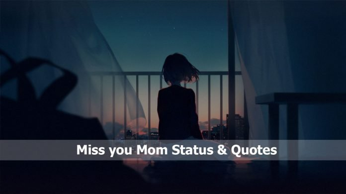 Miss you Mom Status & Quotes