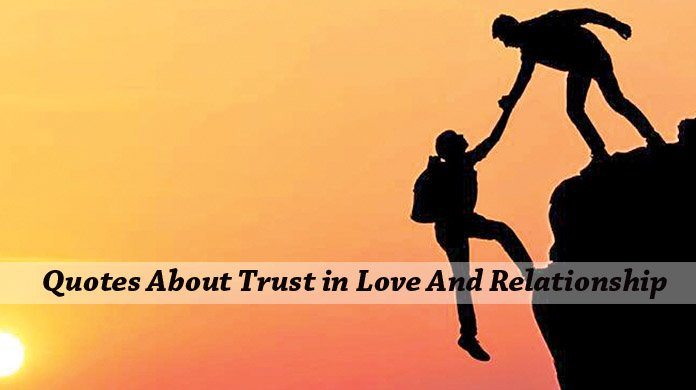Quotes About Trust in Love