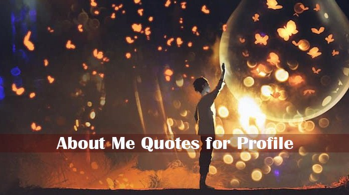 Quotes for Profile