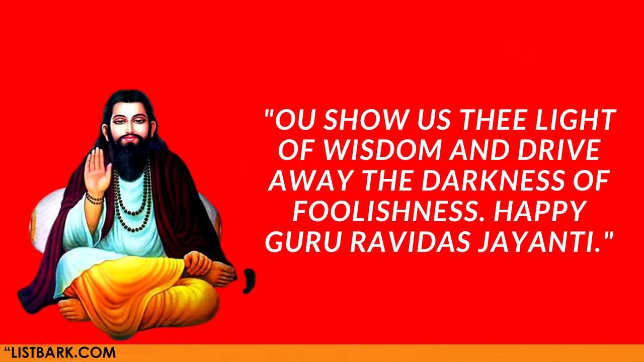 Guru Ravidas Jayanti Images