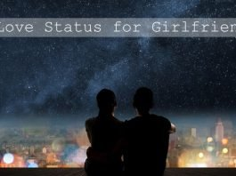 Love Status for Girlfriend