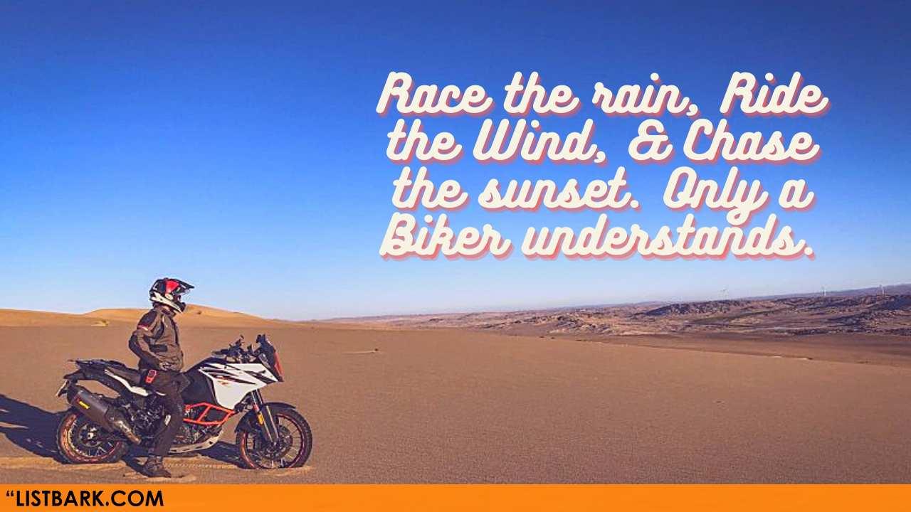 Motorbike Rider Quotes