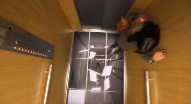 Collapsing Elevator Floor