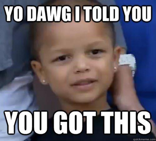 Yo Dawg I Told You