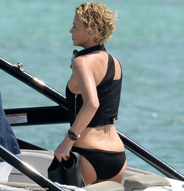 charlize theron unseen