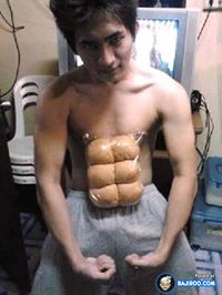 six pack in summer