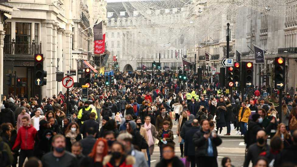 London crowded place