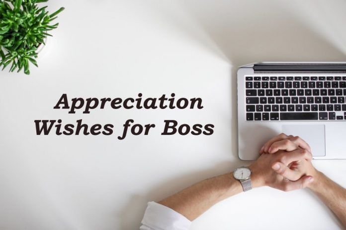thank you appreciation for Boss