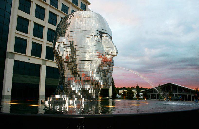 America's Beautiful Metalmorphosis Sculpture