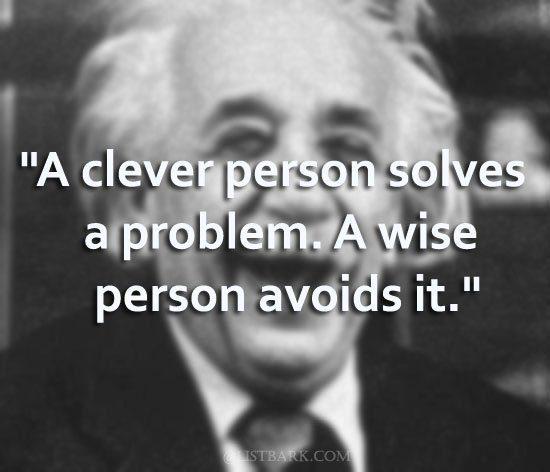 Thoughts by Albert Einstein
