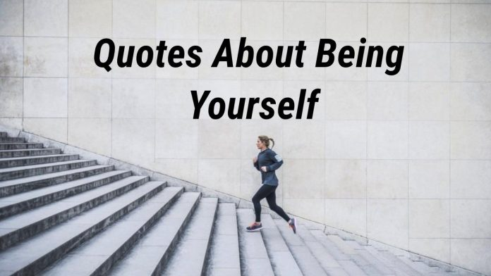 quote about being yourself