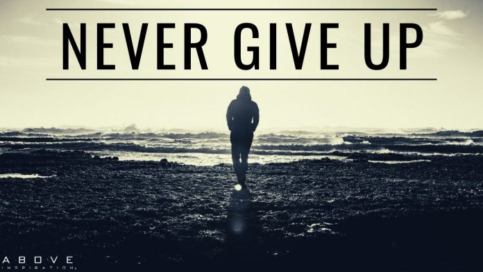 quotes about not giving up