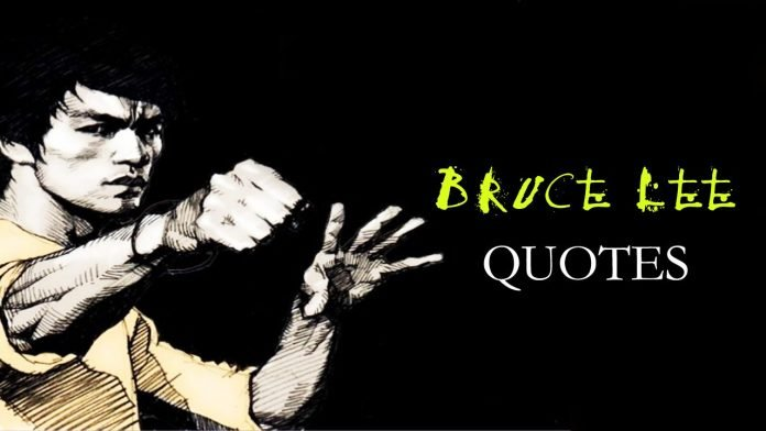 Bruce Lee Quotes Images