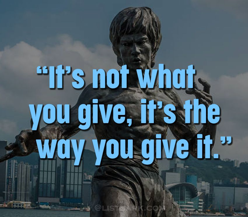 Bruce Lee Thoughts