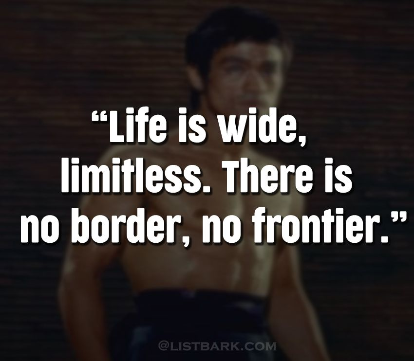 Motivational Quotes by Bruce Lee