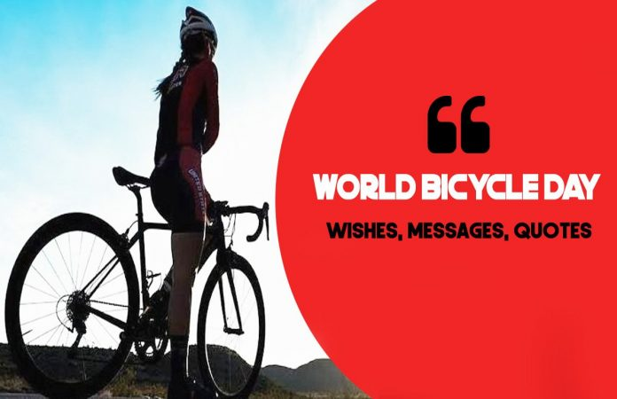World Bicycle Day Wishes, Messages, Quotes
