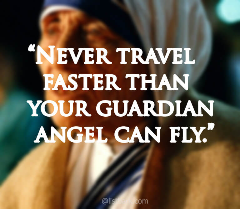 Quotes about Mother Teresa