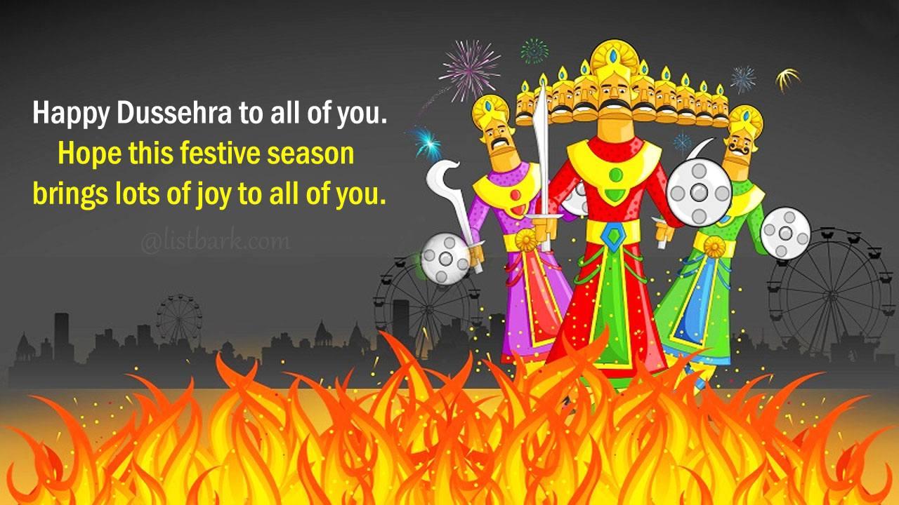 Happy Dussehra Wishes Pics